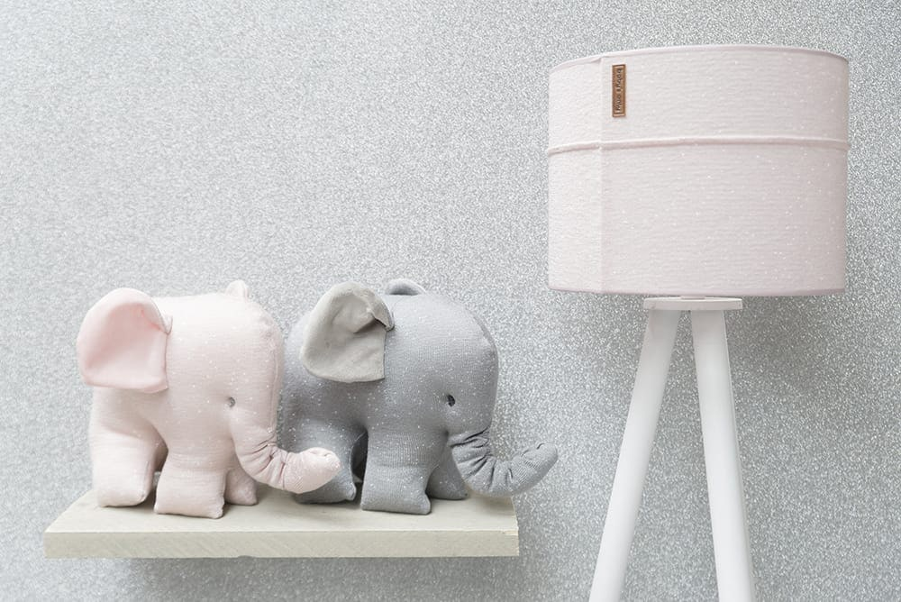 elefant sparkle silberrosa melee