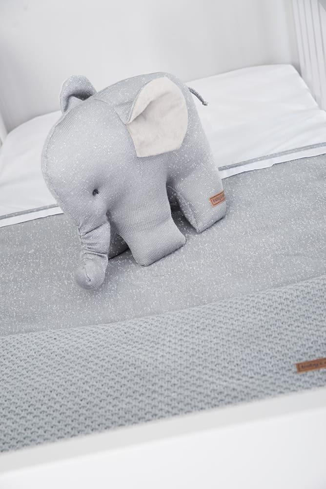 elefant sparkle silbergrau melee
