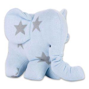 Elefant Star baby blau/grau