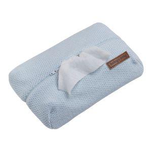Feuchttücherbezug Classic puderblau
