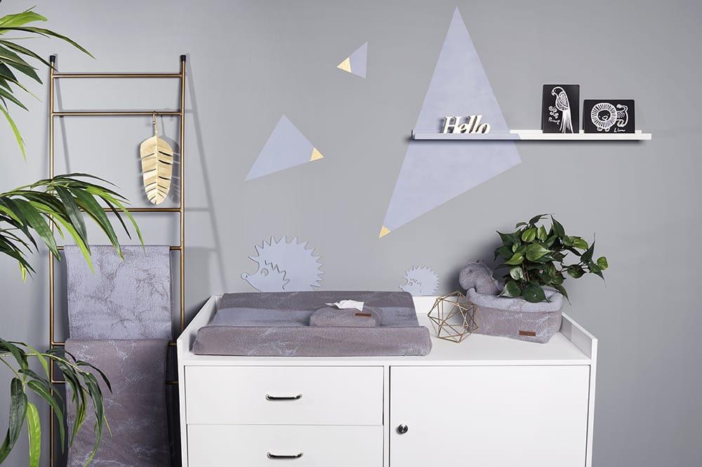 feuchttcherbezug marble granitgrau