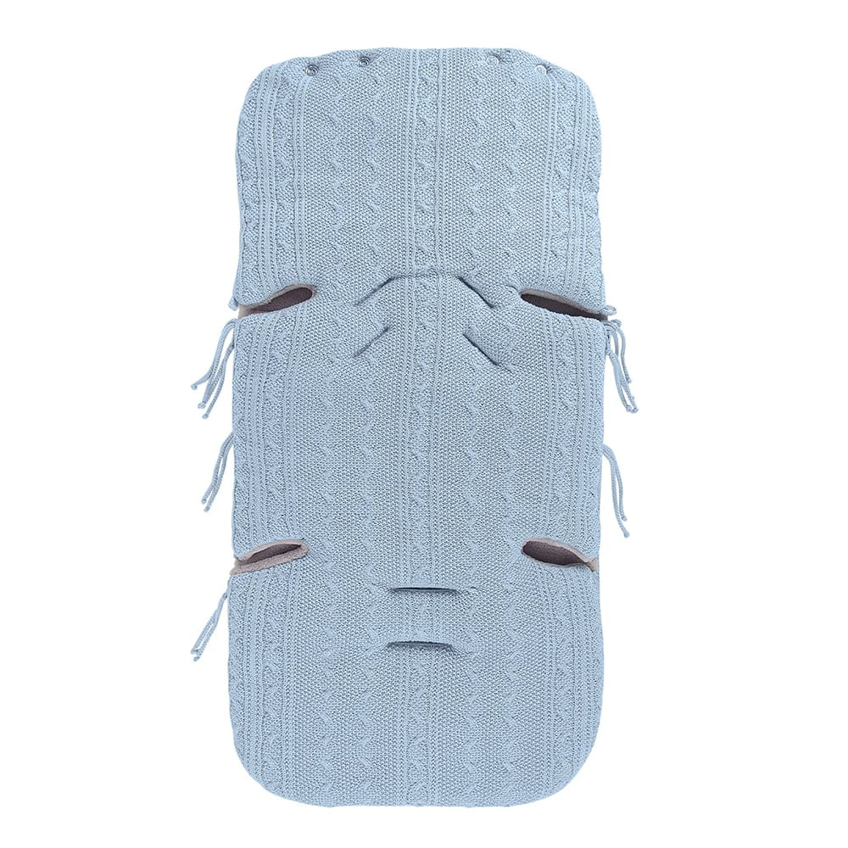 fusack autositz 0 cable baby blau