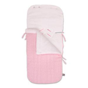 Fußsack Autositz 0+ Cable baby rosa