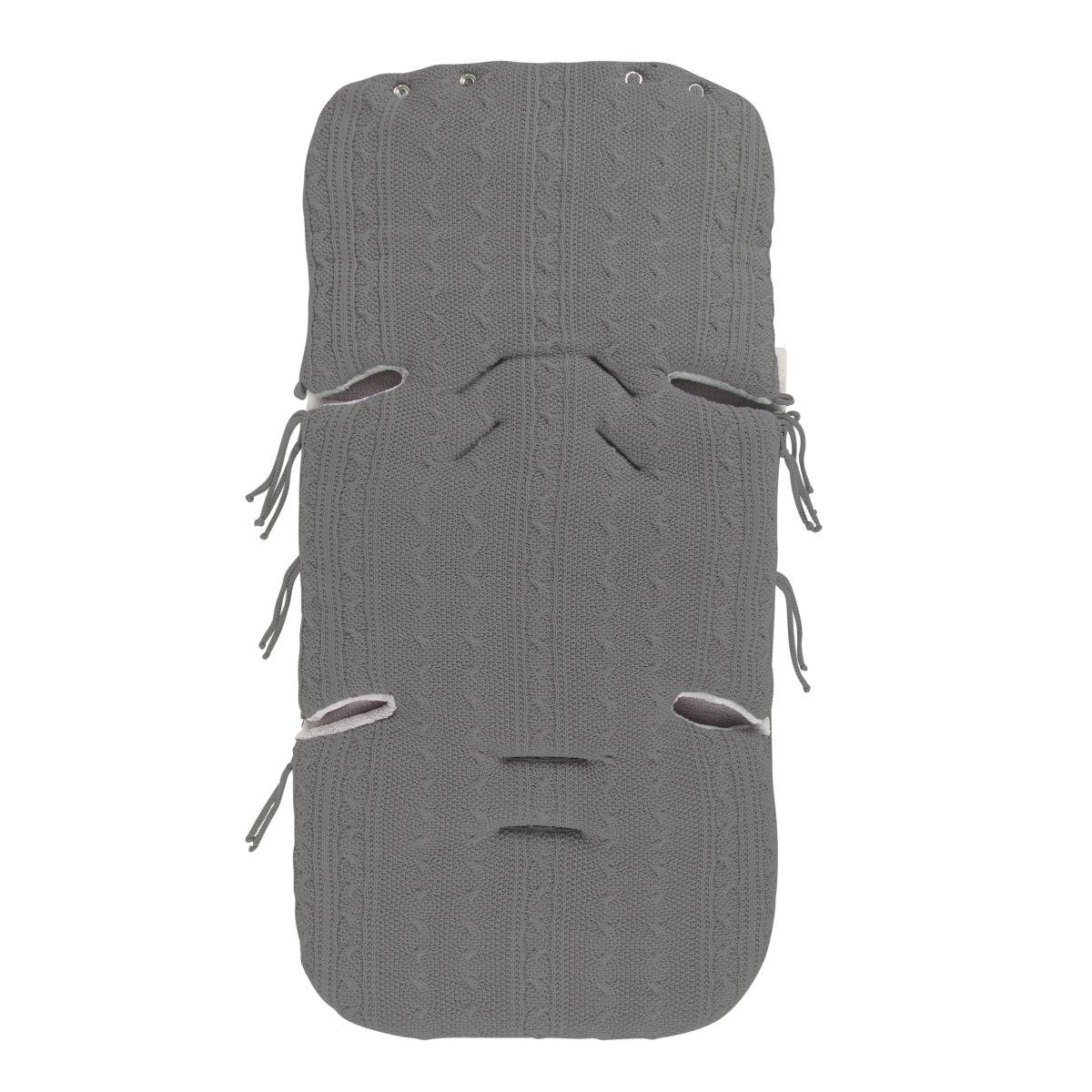 fusack autositz 0 cable grau
