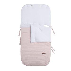 Fußsack Autositz 0+ Cloud klassisch rosa
