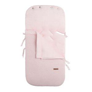 Fußsack Autositz 0+ Flavor klassisch rosa