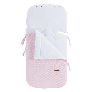 Fußsack Autositz 0+ Sun klassisch rosa/baby rosa