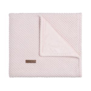Gitterbettdecke soft Flavor klassisch rosa