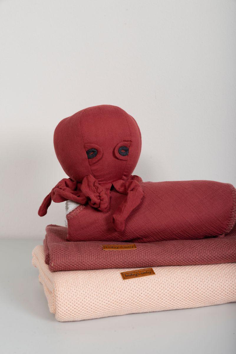 gitterbettdecke teddyfutter classic blush