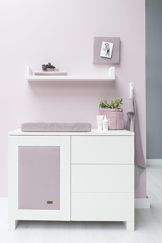 kapuzendecke nickistoff cloud klassisch rosa