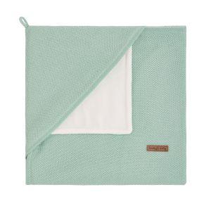 Kapuzendecke soft Classic mint
