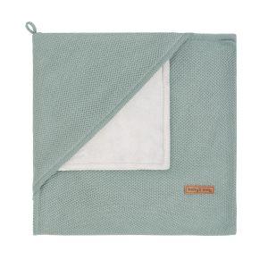 Kapuzendecke soft Classic stonegreen