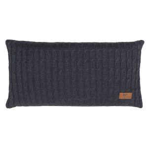 Kissen Cable anthrazit - 60x30