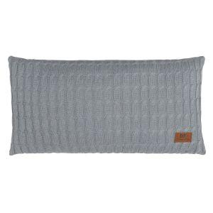 Kissen Cable grau - 60x30