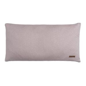Kissen Sparkle silber-rosa melee - 60x30