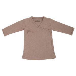 Kleid Melange clay - 62