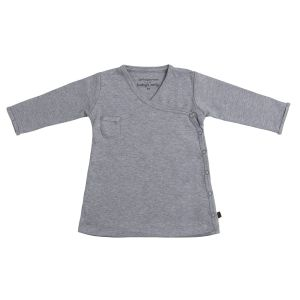 Kleid Melange grau - 56