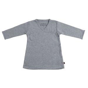 Kleid Melange grau - 68