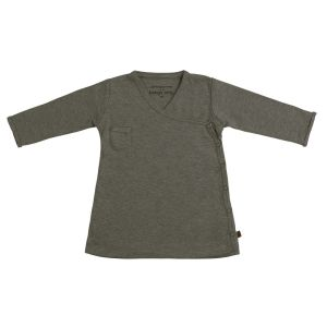 Kleid Melange khaki - 56