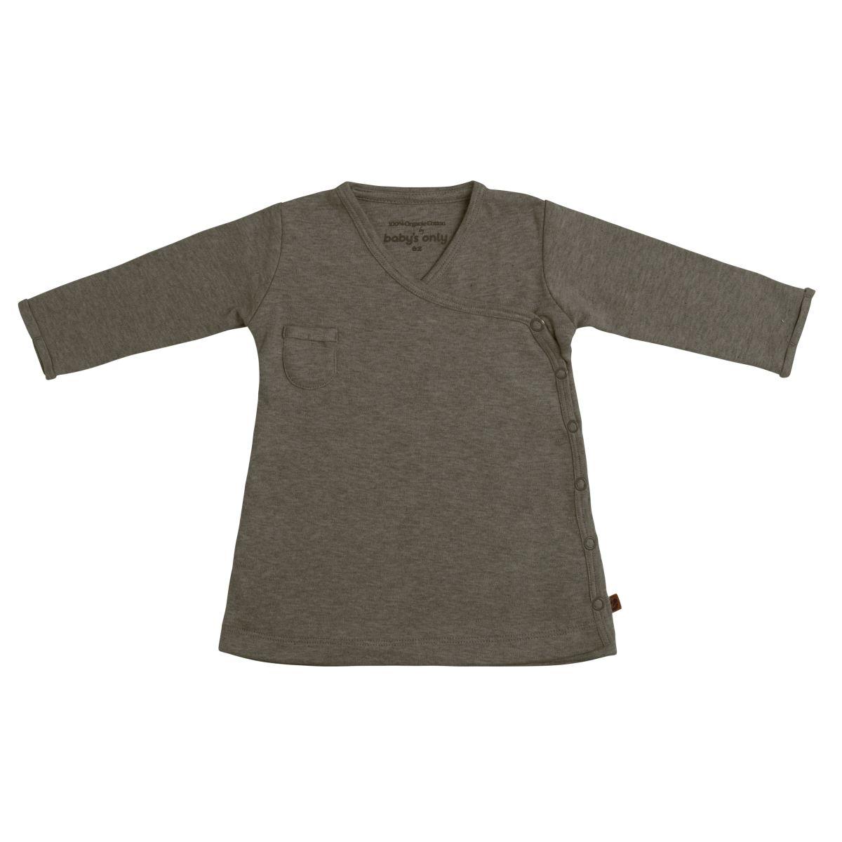 kleid melange khaki 62