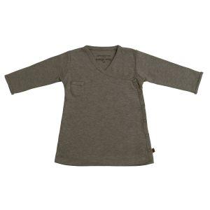 Kleid Melange khaki - 68