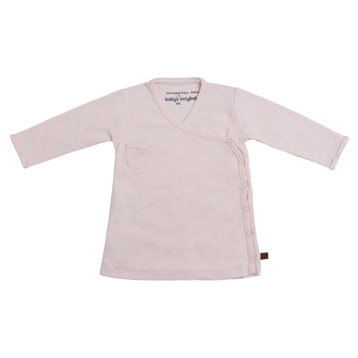 kleid melange klassisch rosa 68