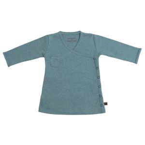Kleid Melange stonegreen - 68