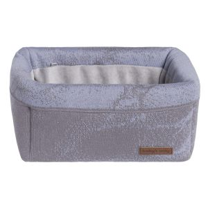 Korb Marble cool grey/lila