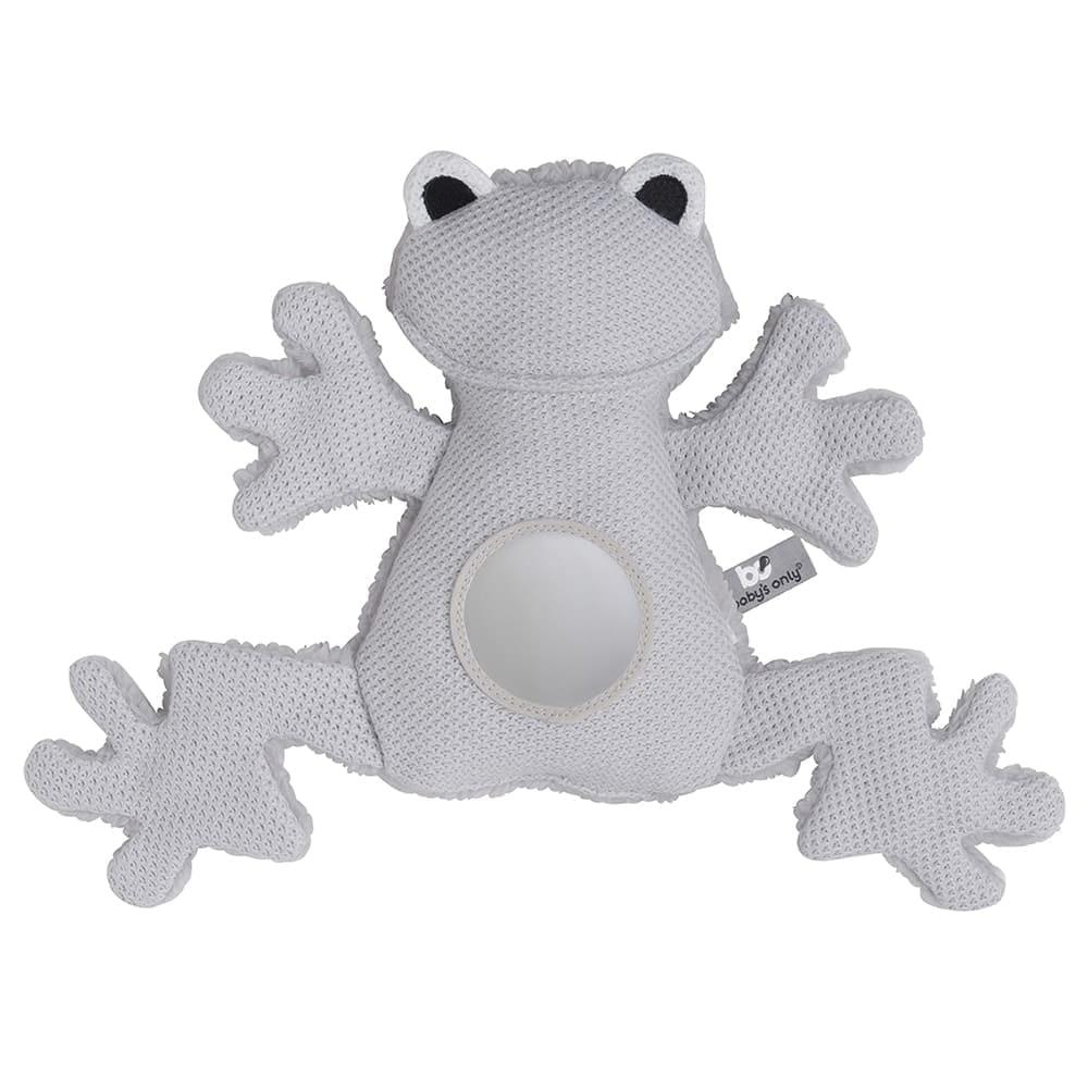 kuschel frosch silbergrau