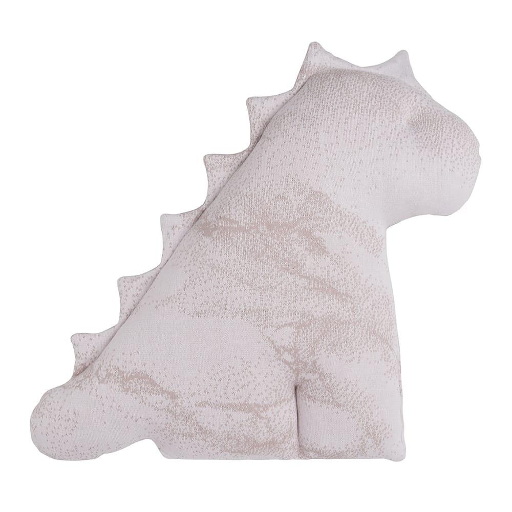 kuscheldino marble alt rosaklassisch rosa 55 cm