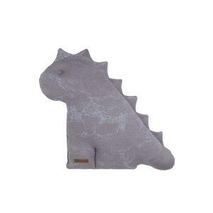 Kuscheldino Marble cool grey/lila - 40 cm