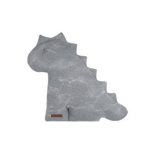 Kuscheldino Marble grau/silbergrau - 40 cm