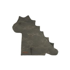 Kuscheldino Marble khaki/olive - 40 cm