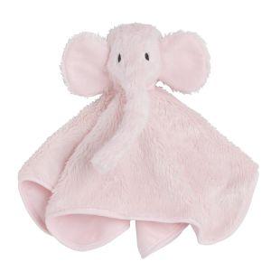 Kuscheltuch Elefant klassisch rosa