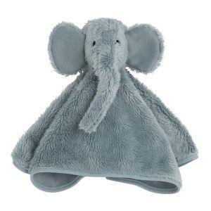 Kuscheltuch Elefant stonegreen