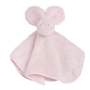 Kuscheltuch Maus klassisch rosa
