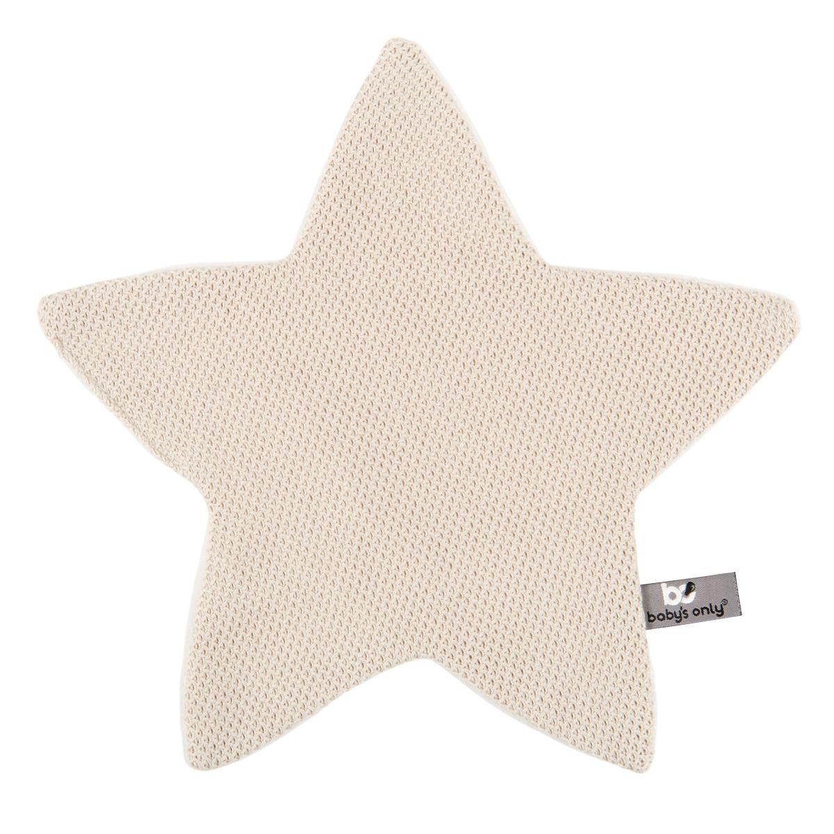 kuscheltuch stern classic sand