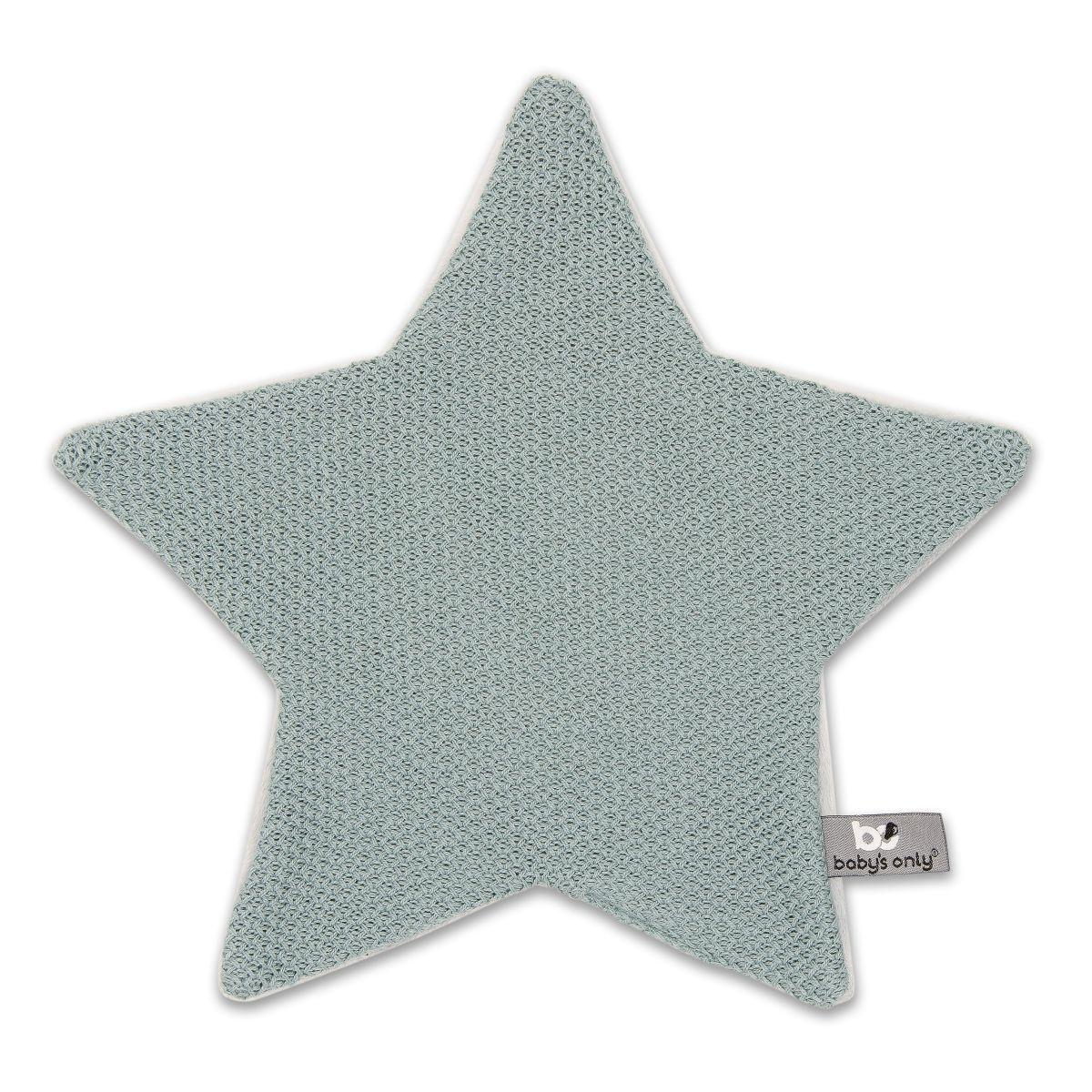 kuscheltuch stern classic stonegreen