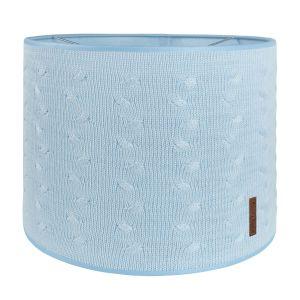 Lampenschirm Cable baby blau - Ø30 cm