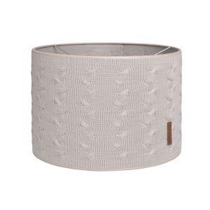 Lampenschirm Cable lehm - Ø30 cm