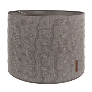 Lampenschirm Cable taupe - Ø30 cm