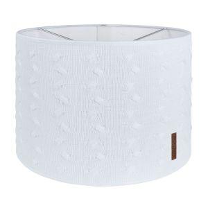 Lampenschirm Cable weiß - Ø30 cm