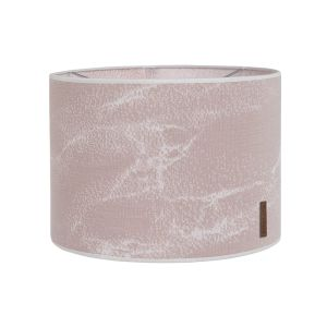 Lampenschirm Marble alt rosa/klassisch rosa - Ø30 cm