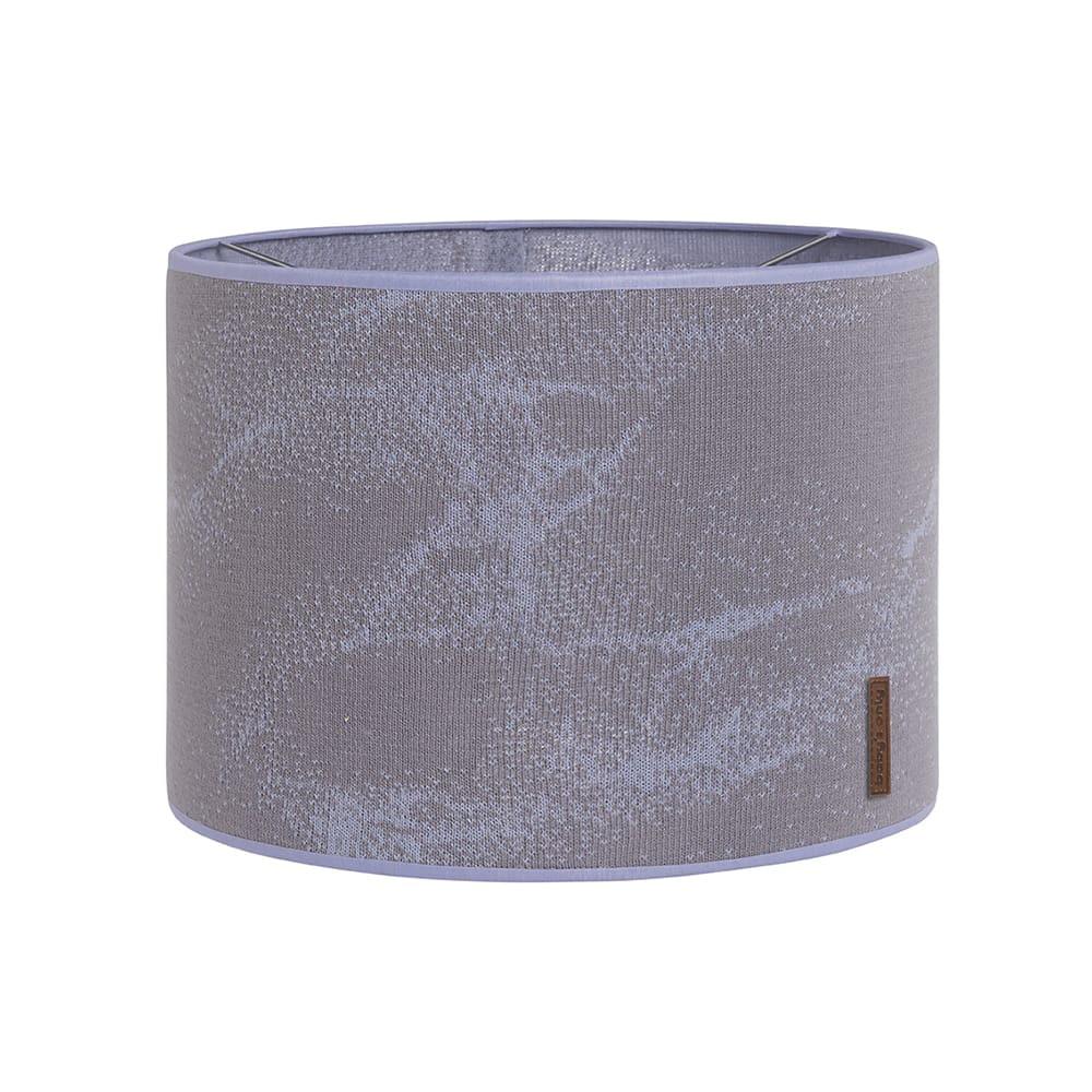 lampenschirm marble cool greylila 30 cm