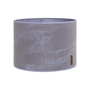 Lampenschirm Marble cool grey/lila - Ø30 cm