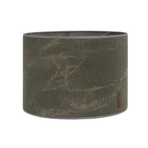 Lampenschirm Marble khaki/olive - Ø30 cm