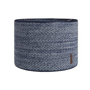 Lampenschirm River jeans/grau melee - Ø30 cm