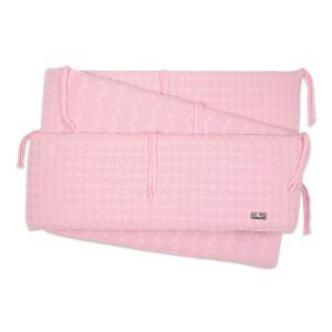 Laufgitter Nestchen Cable baby rosa