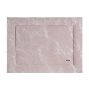 Laufgittereinlage Marble alt rosa/klassisch rosa - 75x95