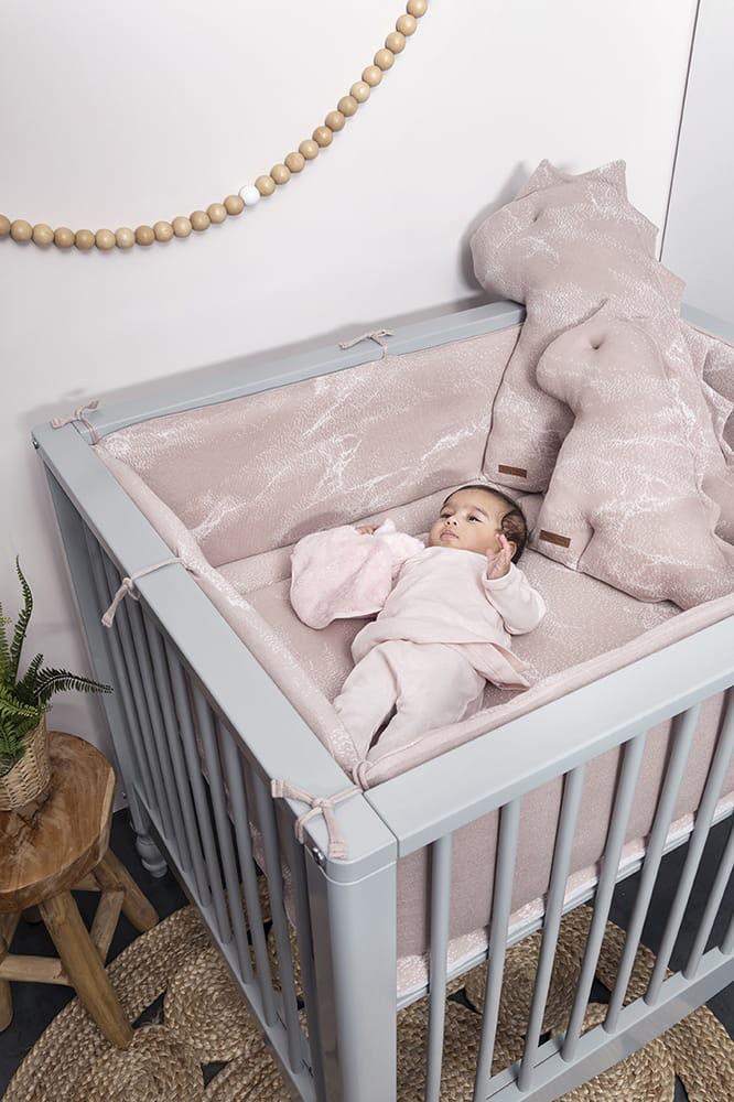 laufgittereinlage marble alt rosaklassisch rosa 75x95